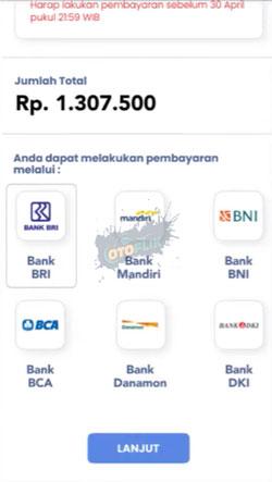 4 Pilih Bank Pembayaran