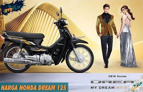Harga Honda Dream 125 dari Spesifikasi Fitur dan Warna