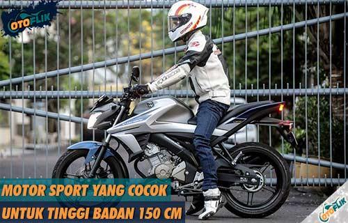 Motor Sport yang Cocok untuk Tinggi Badan 150 cm