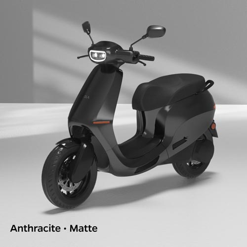 Ola Electric Anthracite Matte