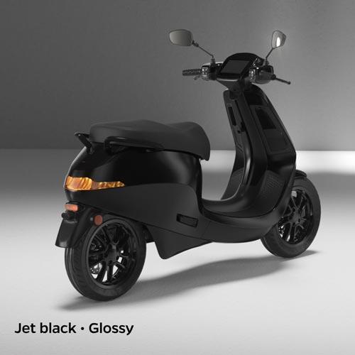 Ola Electric Jet Black Glossy