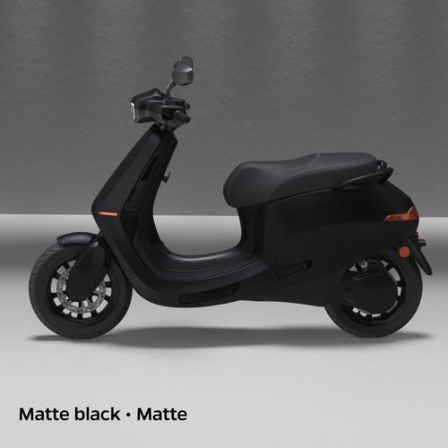 Ola Electric Matte Black Matte