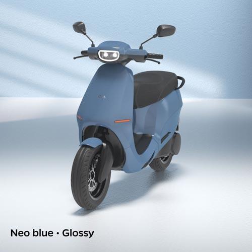 Ola Electric Neo Blue Glossy